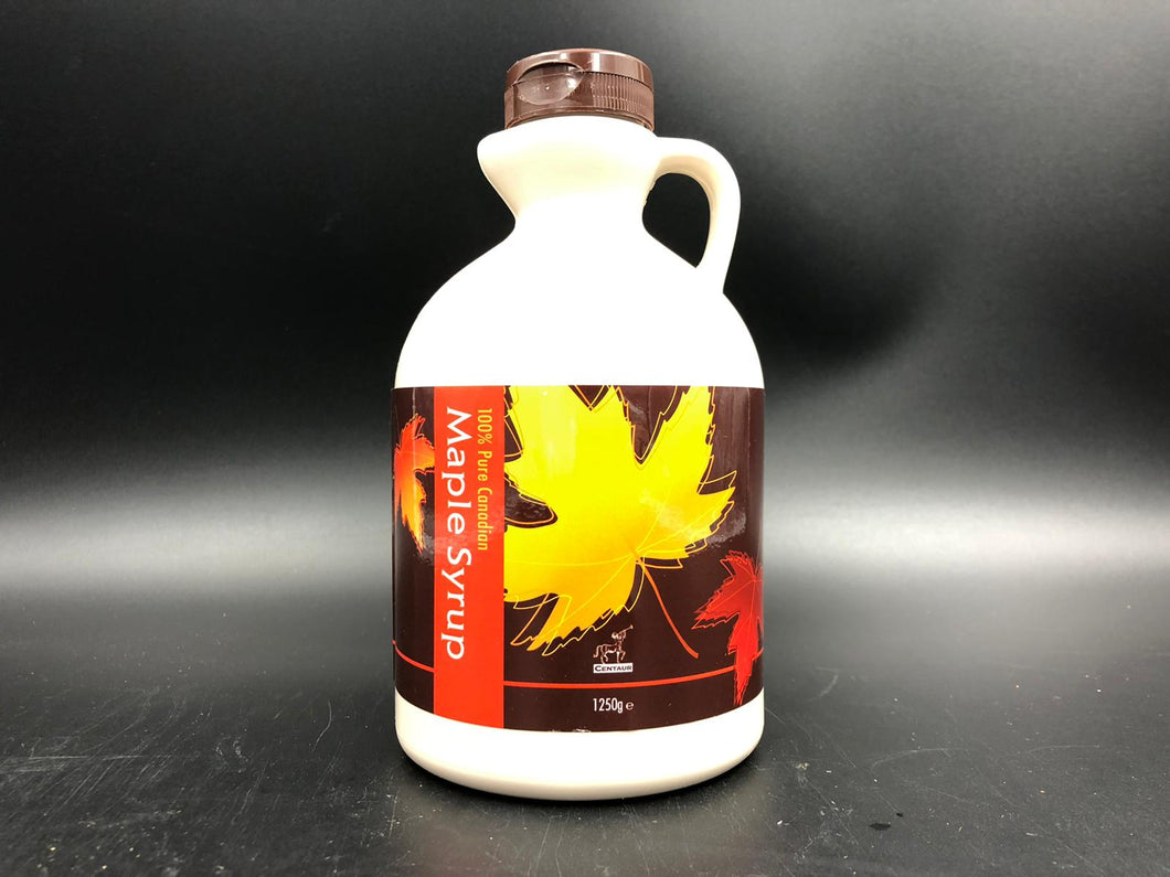 Maple Syrup, Canadian A grade. Gold , jumbo size  (1.25 kg)