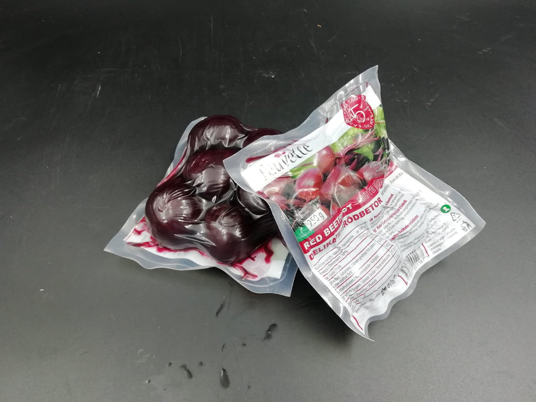 Beetroot Vac Packed Cooked 250g - per packet