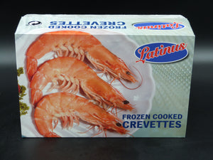 Prawns, cooked crevettes  huge  20-30 per kg  (2kg box)