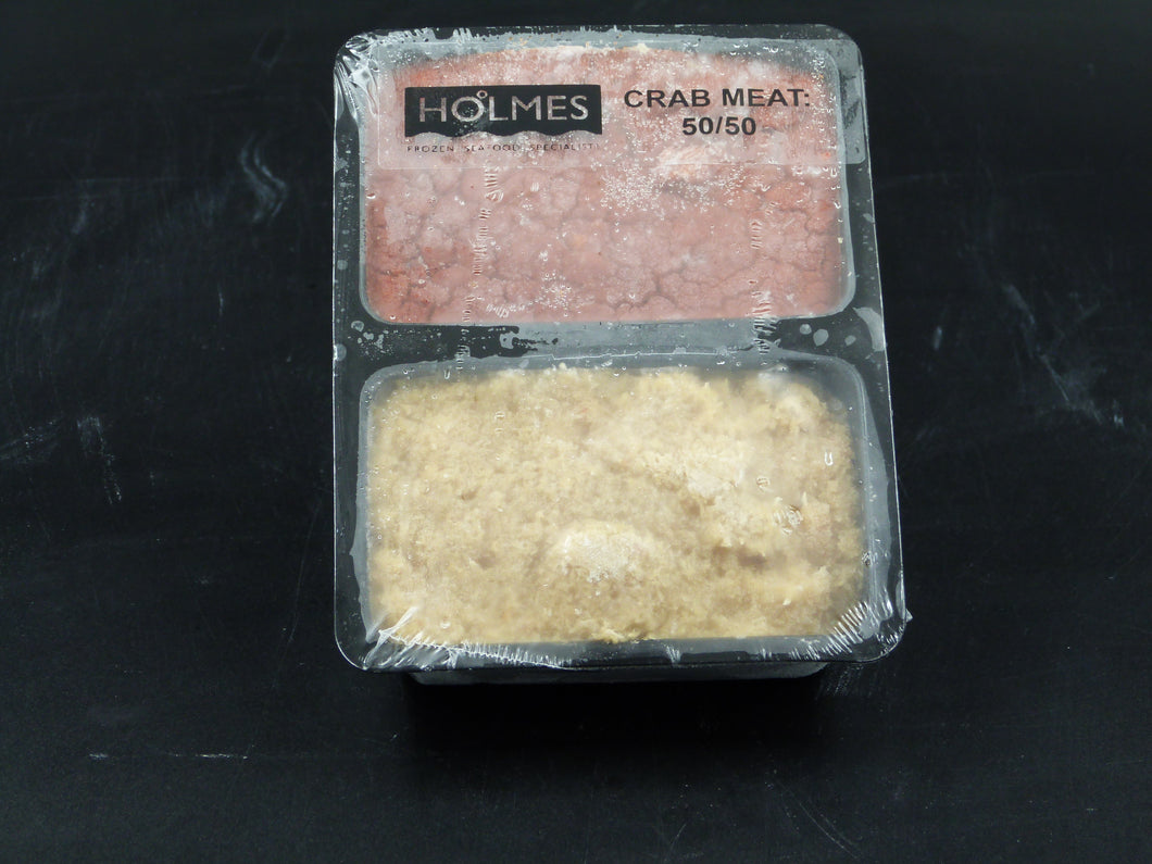 Crabmeat (white and brown) frozen (454gm)