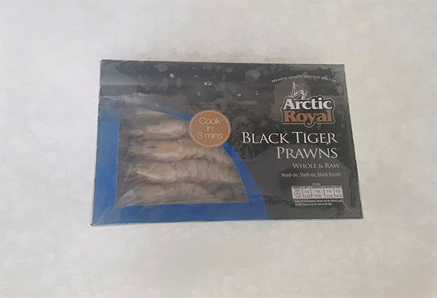 Prawns, Tiger, whole uncooked 16-20 pieces... 1kg box