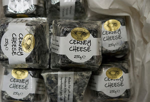 Goats cheese, Cerney Ash (250gm)