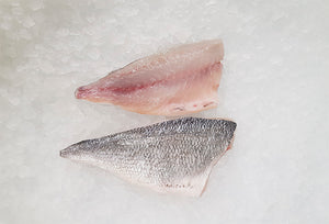 Sea bream fillet 65-85gm, pack of 10, frozen