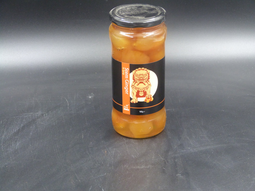 Ginger, stem in syrup (900gm)