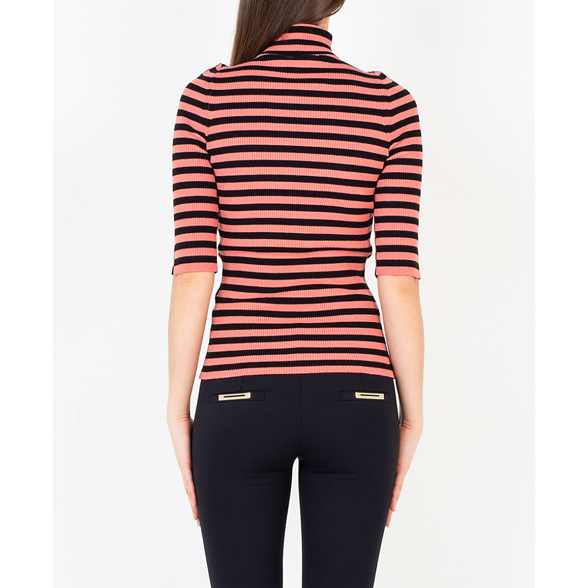 SEMICOUTURE Striped sweater Yolande Y0SG04