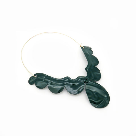 Powder-coated neckpiece
