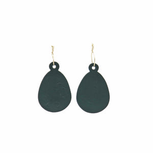 Small powder-coated earrings