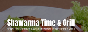 Shawarma Time & Grill - Gift Certificate (Link)