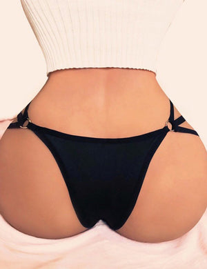 Ring Side Strappy Thong - Missbodybra