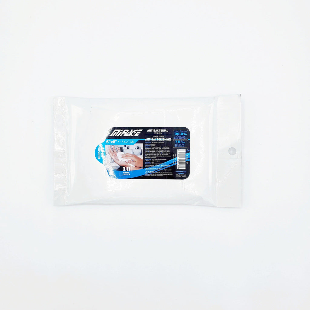 75% Alcohol Antibacterial Wipes - Dollar Max Depot