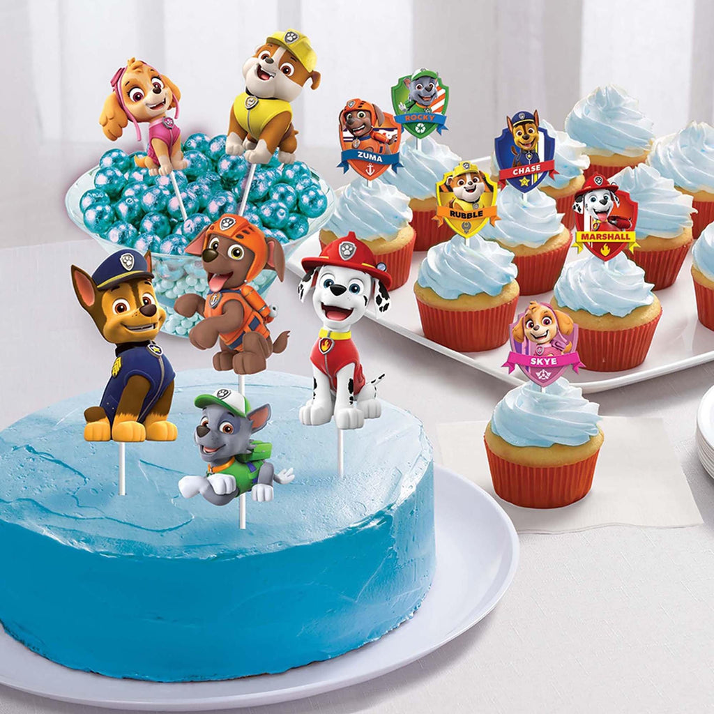 Cake Decor Paw Patrol Adventures - Dollar Max Depot