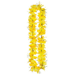 Yellow Tinsel Lei - Dollar Max Depot