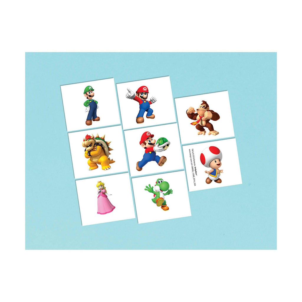 Tattoos Super Mario - Dollar Max Depot
