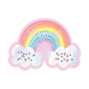Invitation Large Nvlty Magical Rainbow - Dollar Max Depot
