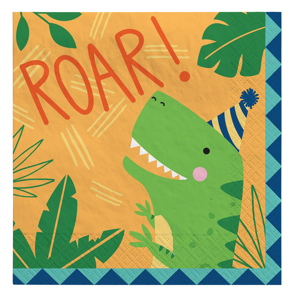 Lunch Napkins Dino-Mite Party - Dollar Max Depot