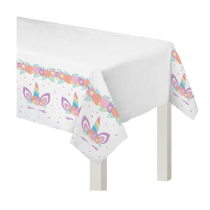 Tablecloth Paper Unicorn Party - Dollar Max Depot