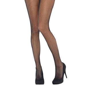 Adult Black Fishnet Tights - Halloween Costume Accessories - Dollar Max Depot