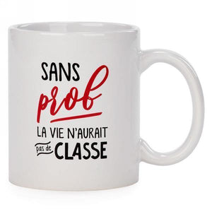 """Prof"" French Message Mug - Dollar Max Depot"