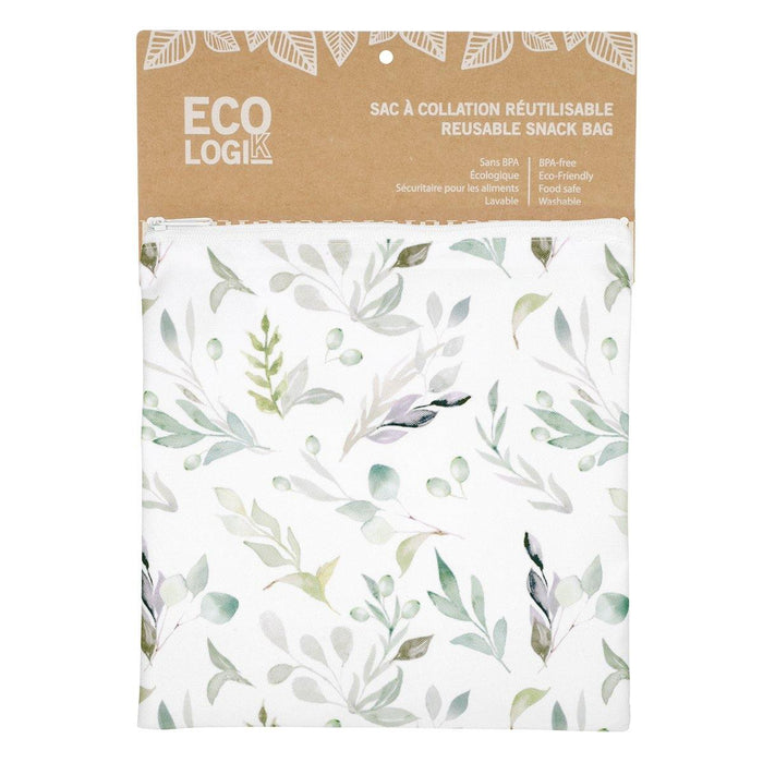 Reusable Sandwich Bag - Olive Branch 8 x 8'' - Dollar Max Depot