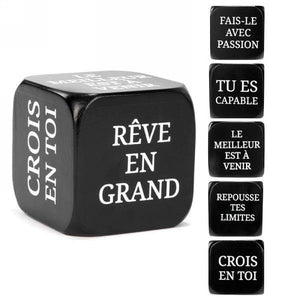 Cube With French Messages - Dollar Max Depot