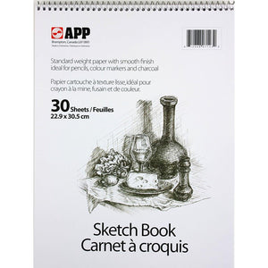 Sketch Book 30 Sheets (Flip Vertically)