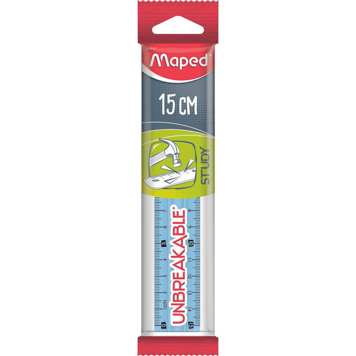Maped Ruler 15 Cm Unbreakable - Dollar Max Depot