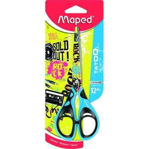 Maped Scissors Tattoo Soft 16Cm - Dollar Max Depot