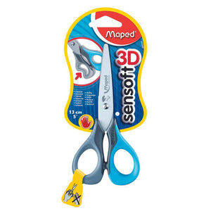 Scissors Sensoft 13.5Cm Left Hand Blister