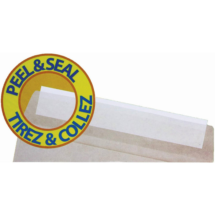 12 Kraft Envelopes Peel & Seal - Dollar Max Depot