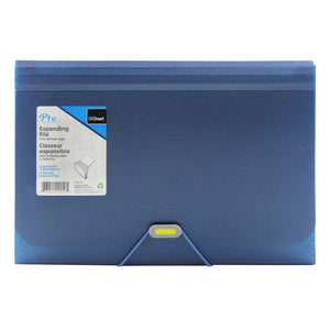 13-Pocket Expanding File Metallic Blue - Dollar Max Depot