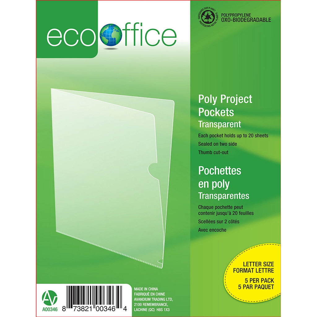 Eco Project Pockets 5 Pack