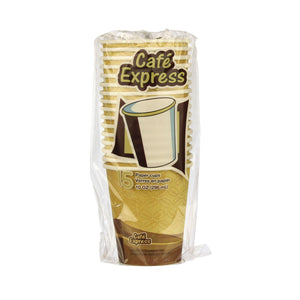 Cafe Express 10Oz Paper Cups 15/Pk - Dollar Max Depot