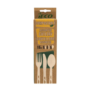 iEco Compostable Cutlery - Dollar Max Depot