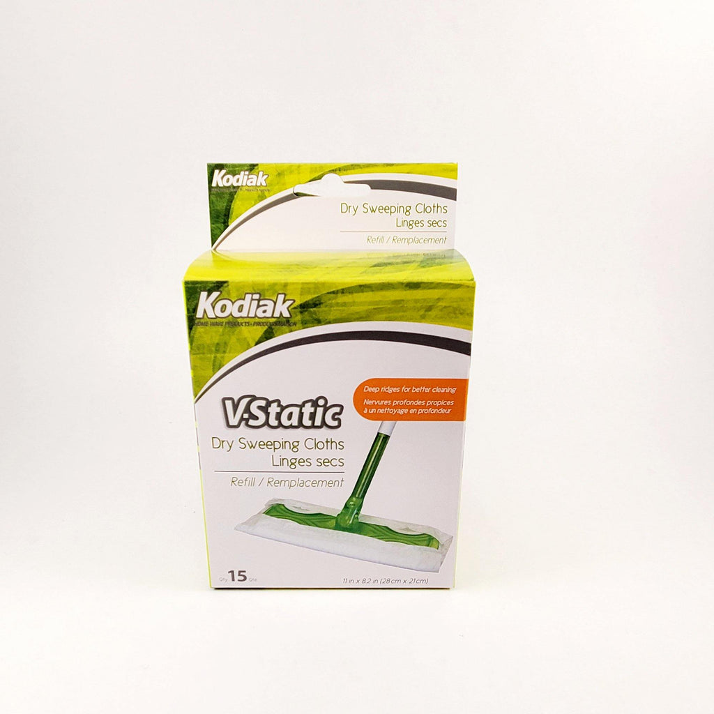 15 V-Static Refill Dry Sweeping Cloths