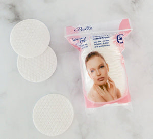 Belle Cosmetic Pads 8Cm 50/Pk - Dollar Max Depot