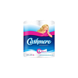 Cashmere Bathroom Tissue, 4 Rolls, 2 Ply Toilet Paper