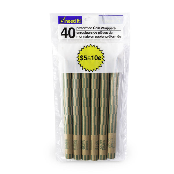 Paper Roll For Change $0.10