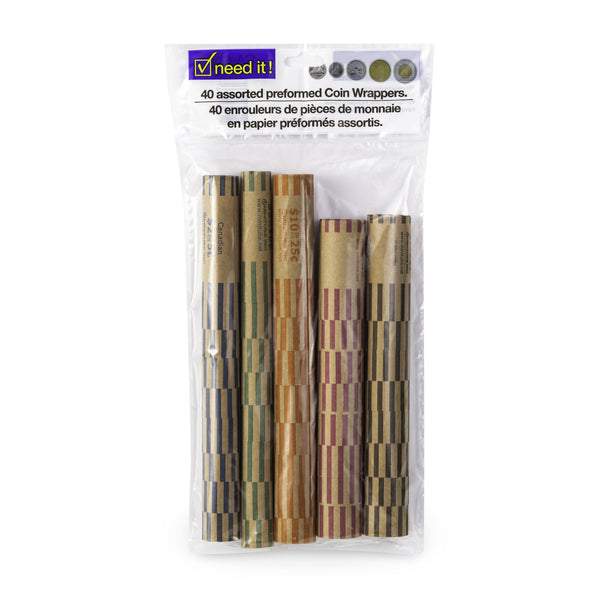 Paper Roll For Change Assorted Size