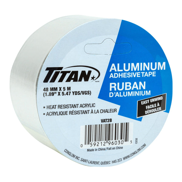 Aluminium Tape 48Mm5M 1/Pk