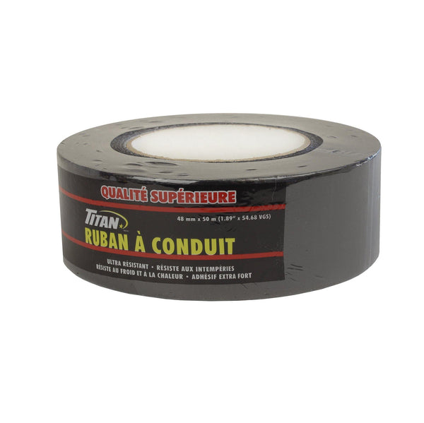 Titan Premium Black Duct Tape 48Mm50M