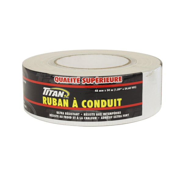 Titan Premium White Duct Tape 48Mm50M