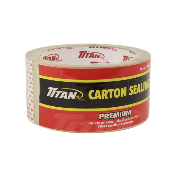 Titan  Clear Tape Individually Wrapped 48Mmx50M