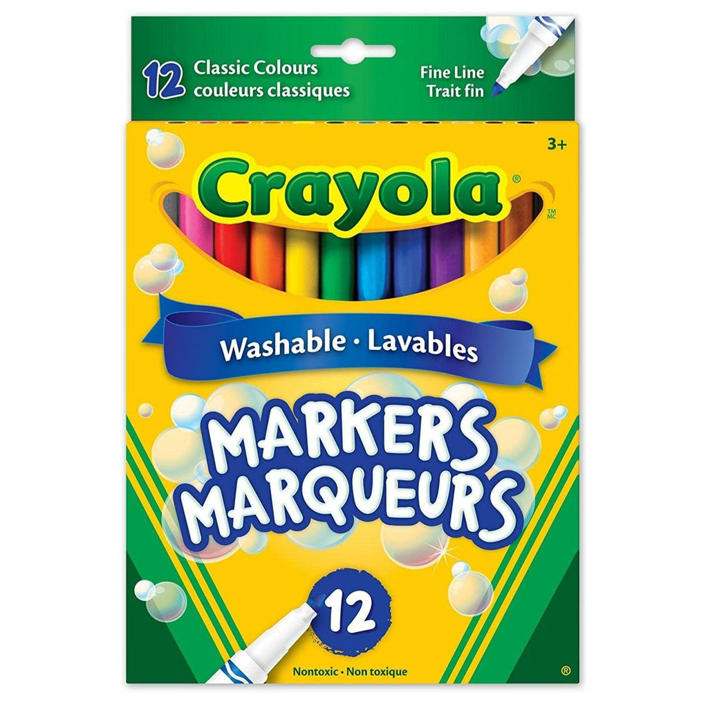 Crayola Ultra-Clean Washable Fine Line Markers