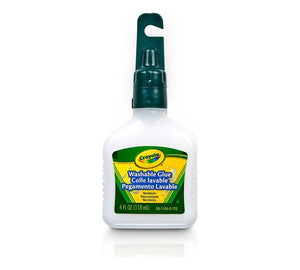 Crayola Washable No-Run School Glue 118 Ml