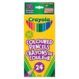 Crayola 24 Coloured Pencils - Dollar Max Depot