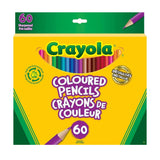 Crayola 60 Coloured Pencils