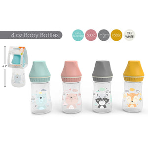 Baby Bottle 4Oz - Dollar Max Depot