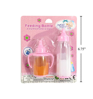2Pcs Milk & Feeding Bottle - Dollar Max Depot