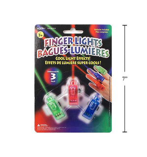 3-Pc Finger Lights B/C