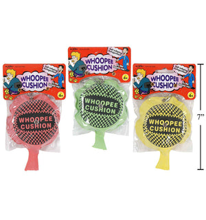 "4""Self-Inflate Whoopee Cushion With"